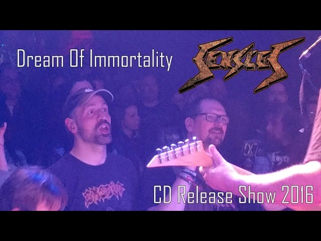 Sensles - Dream Of Immortality (CD Release Show 2016) | Schwobbes Media