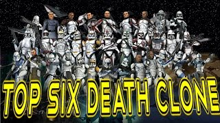 Топ  6 Смертей Клонов Star wars. Top 6 death Clone Star wars.