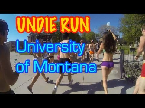 Undie Run @ University of Montana
