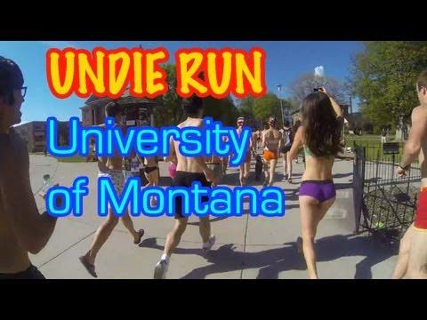 Undie Run @ University of Montana