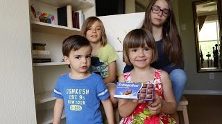 Amerikanische Kinder probieren deutsche Süßigkeiten - American Kids Try German Candy
