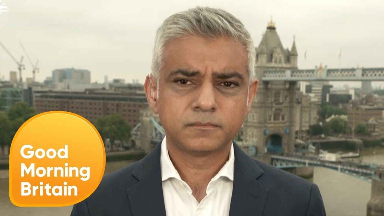 Sadiq Khan Responds to Trump's Criticism | Good Morning Britain
