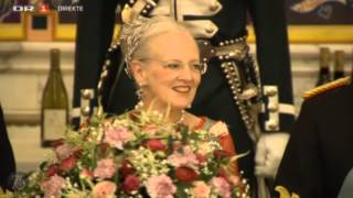 Queen Margrethe II 75th birthday dinner, Christiansborg Palace - 2 (2015)