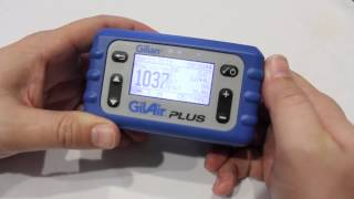 Introduction to Using the GilAir Plus Personal Air Sampling Pump