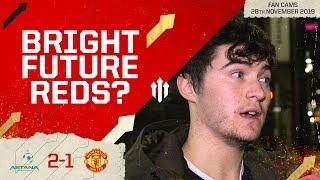 LEVITT & GARNER - FUTURE MIDFIELD? FC Astana 2-1 Man Utd Fan Cam