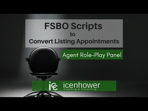 FSBO Scripts to Convert For Sale By Owner Listing Appointmen