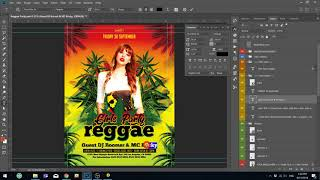Adobe Photoshop Tutorial : How to customize Photoshop Flyer template in PSD from Elegantflyer