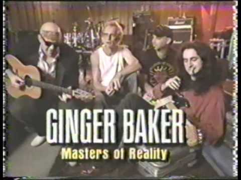 "GINGER BAKER w. MASTERS OF REALITY  ""Kill The King / interview"""