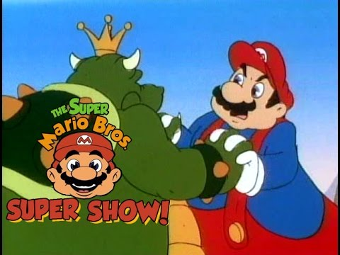Super Mario Brothers Super Show 118 Mario Meets Koop Zilla
