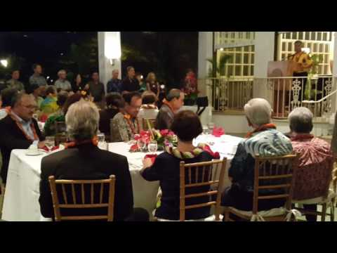 Governor of Hawaii PICL reception