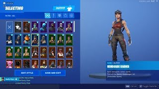fortnite account trading !!!!!!!! (renegade raider, ghoul trooper, OG skull trooper)