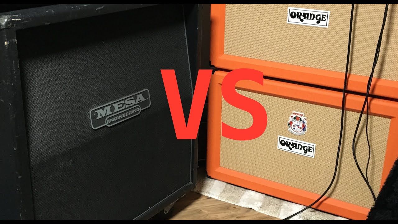 Cab Battle - Mesa 4x12 vs Orange 2x12 - Orange Rockerverb MKIII ...
