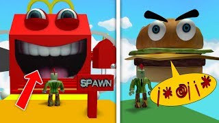 ESCAPE FROM THE HAPPY MEAL! (Roblox Obby)