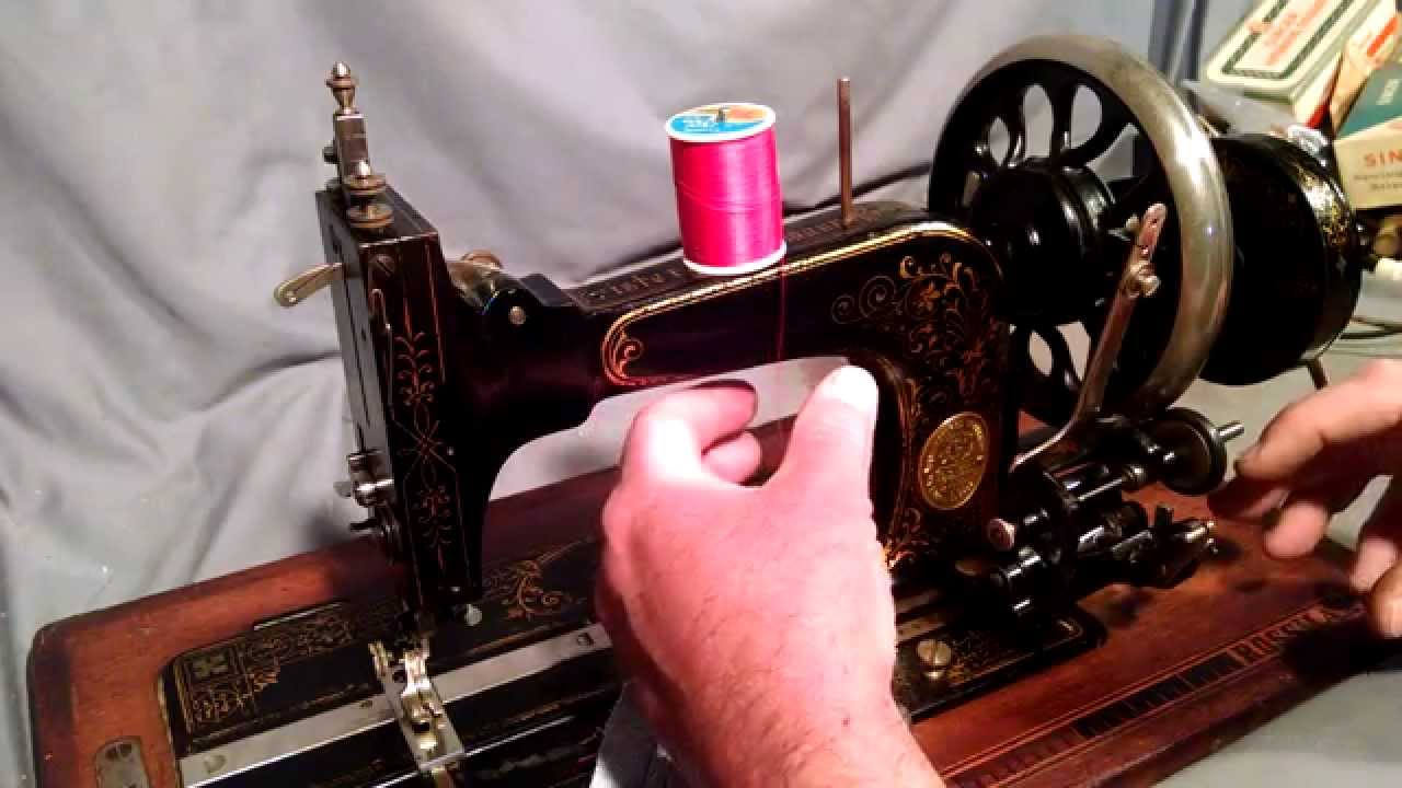 singer start sewing maching how to thread the bobbin youtube