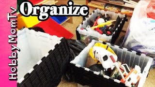 Kids Room Clean Out! Sort and Separate the Toys | Vlog by HobbyMomTV