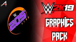 WWE 2K19 205 Live Graphics Pack [ALEX 190]