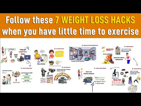 7 Weight Loss Hacks - Lazy Girl Hacks (you should know)
