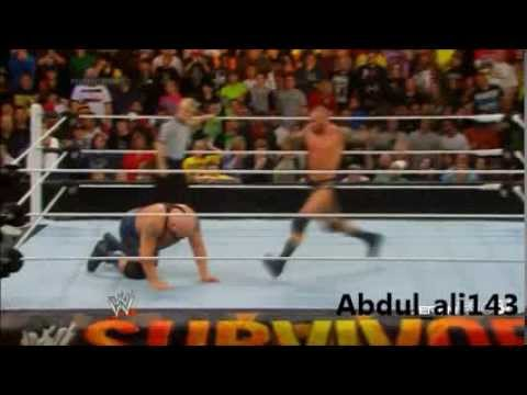 Randy orton fake kick vs Big show at survivor series 2013