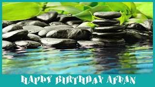Affan   Birthday Spa - Happy Birthday