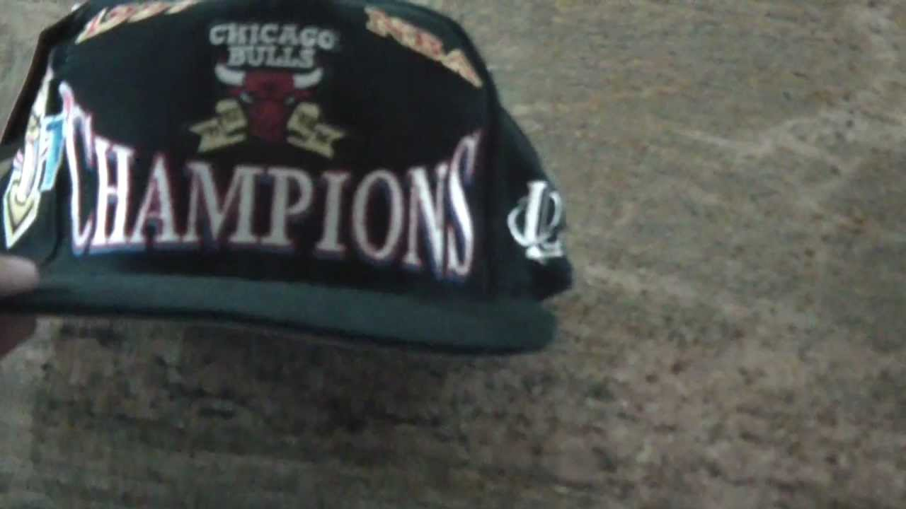 878b4cde11c6d4 ... store for sale rare chicago bulls 1997 championship finals snapback by  logo athletic 09a38 e0b79