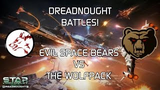 Star Conflict: Dreadnought battles ESB vs WPK