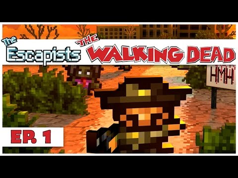 The Escapists: The Walking Dead - Ep. 1 - Harrison Memorial Hospital - Let's Play Gameplay
