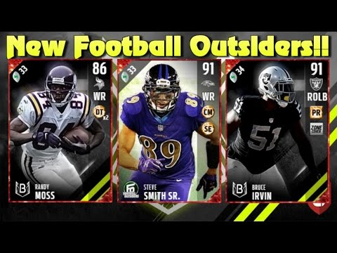 Madden 17 Ultimate Team New Football Outsiders and Blitz Doors! Nice Elite Pull!!