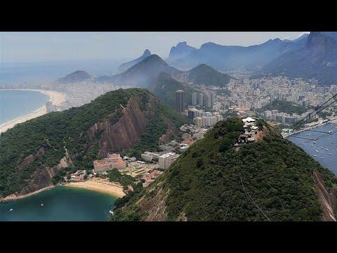 BREZILYA Rio'da  En Güzel  Manzaralar. 2 BÜYÜKTELEFERİKLE ÇIKILAN ZUCKER LOVE TEPELERİ