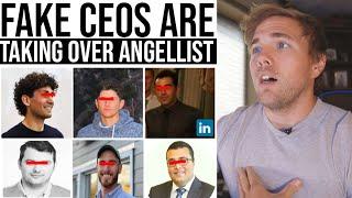 FAKE CEOs are taking over angelList... | #grindreel #angelist #coffeezilla