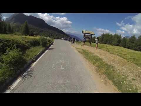 In bici da Monno verso il passo Mortirolo - Foppa