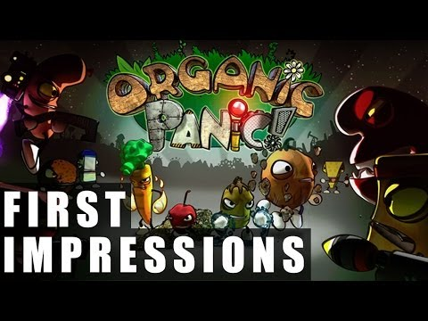 Organic Panic Preview Gameplay | First Impressions HD
