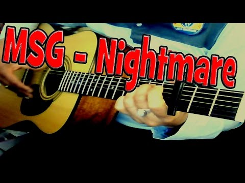 ♪♫ Michael Schenker / MSG - (Never Ending) Nightmare - Acoustic Guitar Cover By Ash Almond