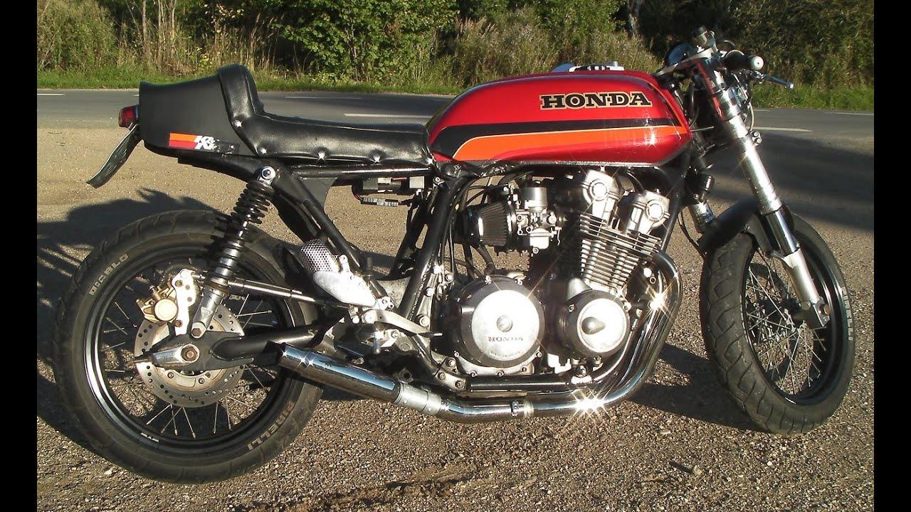 honda cb900 cafe racer - youtube