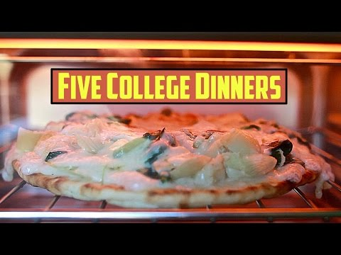 Mastering Student Cooking: Dinner - 5 Meals, 5 ingredients