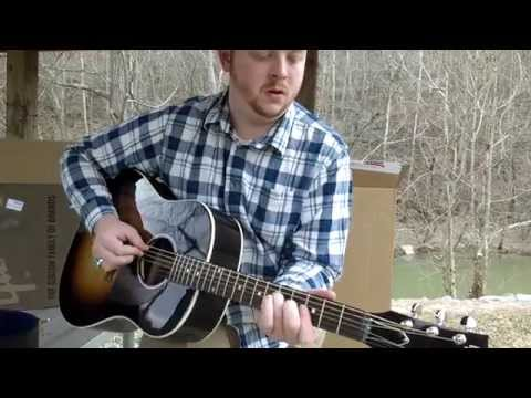 My NEW Gibson J45!!! Unboxing!!!