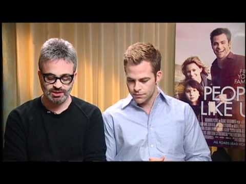 Chris Pine and Alex Kurtzman (Director) Interview for PEOPLE LIKE US