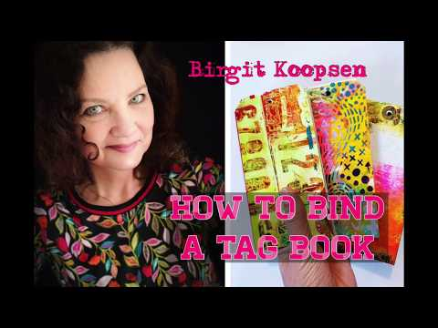 How to bind a tag book