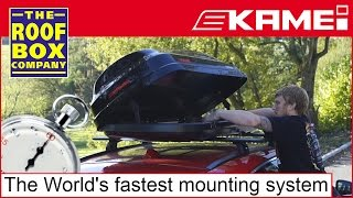 KAMEI ClickFix - The World's fastest roof box mounting system