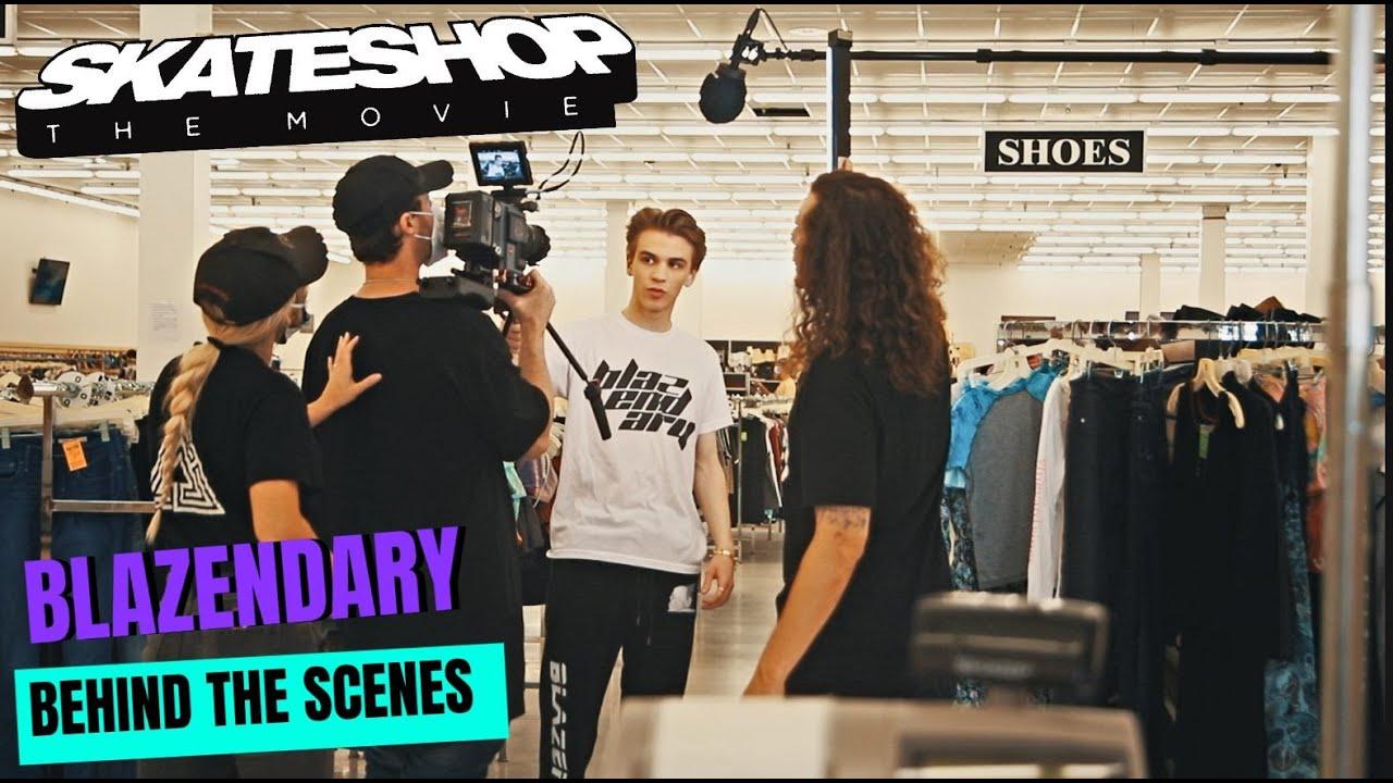 Skateshop the Movie (Behind the Scenes) Final Week - Blazendary Scenes