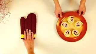 君之烘焙日記2015:黑櫻桃海綿蛋糕卷 DIY black cherry sponge cake roll