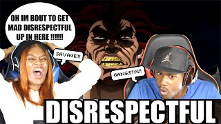 MOST DISRESPECTFUL MOMENTS IN ANIME HISTORY 2 (THE YUJIRO HANMA SPECIAL) REACTION