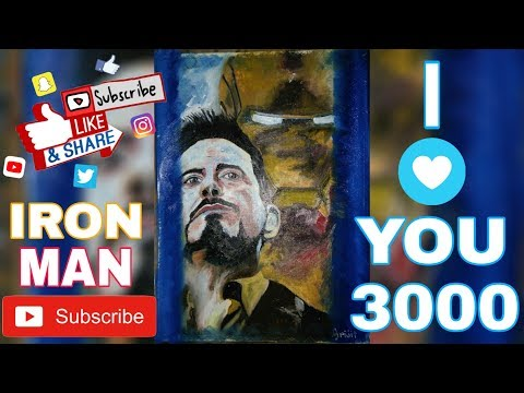 oil-painting-time-lapse-৷-iron-man-(robert-downey-jr.)-#art_of_marvel_characters#3