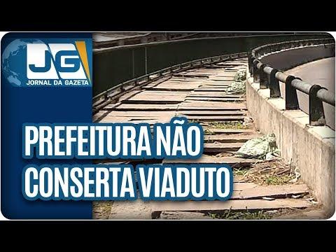 Prefeitura não conserta viaduto