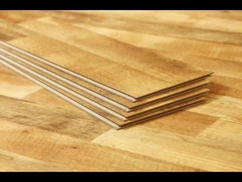 PVC Vinyl Wood Grain Flooring Planks - YouTube