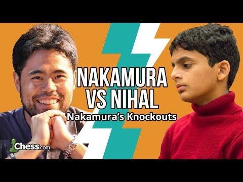Nakamura Vs Nihal Sarin: Blitz Vs a 13-Year-Old Chess Prodigy