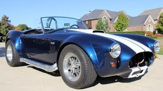1965 Shelby Cobra Replica Big & Tall For Sale
