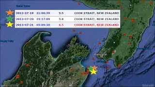 New Zealand Earthquake Watch Feb 21-23, 2014