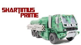 Transformers 4 Age of Extinction Hound Voyager Class Toy Movie Action Figure Review