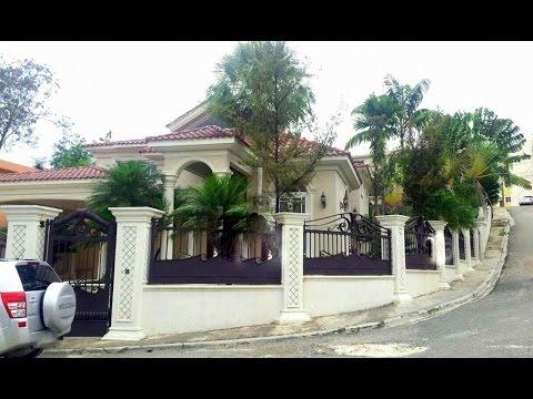 Casa Bonita Y Grande De Venta En Santo Domingo Oeste