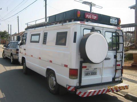 PEQUENO MOTOR HOME - VAN   MB180 D (VENDO 41 985308438)